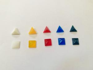 基本の五色比較