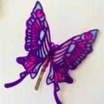 しのぶさん風蝶々アクセサリー