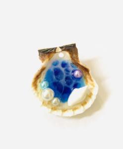 海塗り貝殻